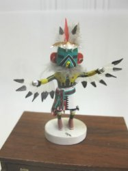 Eagle Kachina by Gil Maldonado