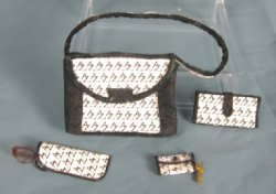 """Designer"" Handbag Set, 5-Piece"