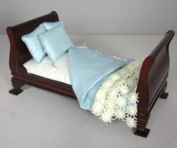 Blue and White Daybed