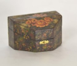 Hinged Painted Box by Paul Saltarelli