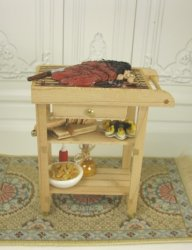 Grill Prep Table, by Anne Caesar, The Kitchen Captive