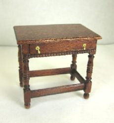 Charles II Side Table, Mahogany