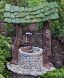 Fiddlehead Fairy Garden Wishing Well