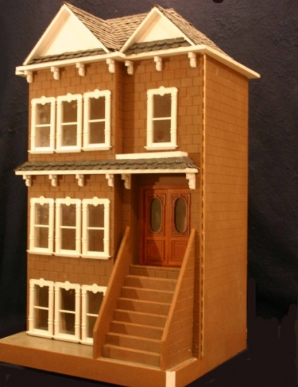 Clairmont Dollhouse Kit - Click Image to Close