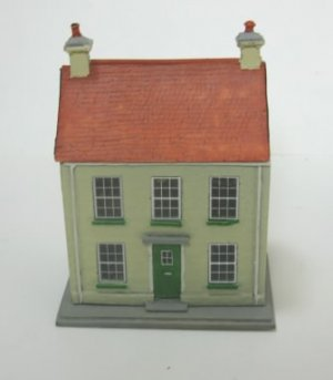 1/144 Scale Dollhouse, Front Opening, by P.Wells