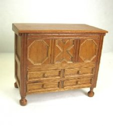 Antique Blanket Chest, Cherry