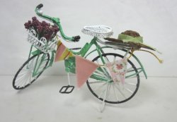 Shabby Chic Bicycle, Green