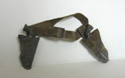 Leather Holster with 6-shooters