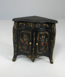 Painted Corner Commode