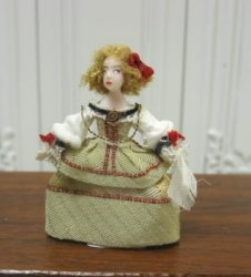 Tiny Georgian Doll