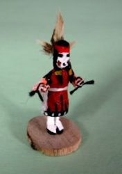 Comanche Girl Kachina