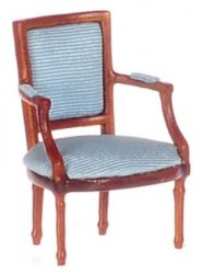 Jefferson One Inch Scale Louis XVI Armchair