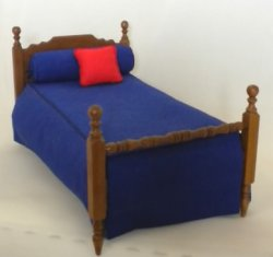 Single Bed by IGMA Artisan Marcia Gardner