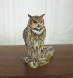 Horned Owl by Mary McGrath, IGMA Fellow