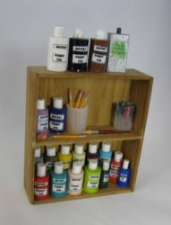 Painter's Shelf