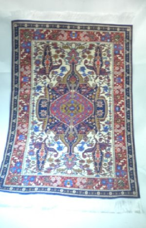 Woven Turkish Carpet, Large #5