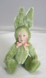 Child in Bunny Costume