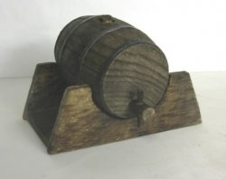 Beer Barrel on Stand