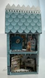 Tiny Dollhouse, Blue