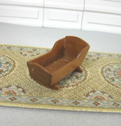 "1/2"" Scale Cherry Cradle"