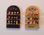 Thread Spool Wall Rack Kit