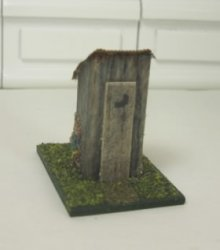 Tiny Outhouse