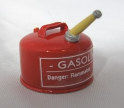 Red Gasoline Can