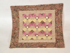 Pineapple Quilt by Cindy Johnson of Quilted Miniatures