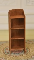 "1/2"" Scale Cherry Shelf Unit"