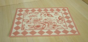 Cottage Toile Rug, Pink