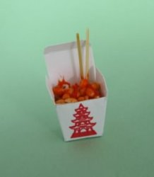 Sweet & Sour in Take-out Container