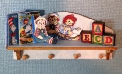 Raggedy Ann & Andy Shelf Kit