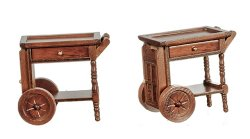 Tea Cart, Walnut Fuinish