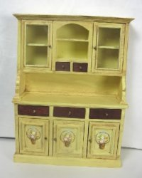 Painted Country Hutch