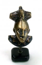 Bronze Baule Mask