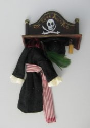 Pirate Coat Rack