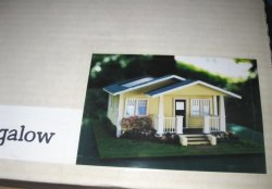 "1/4"" Scale Bungalow Kit by Young at Heart"