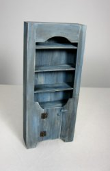Country Cupboard, Blue