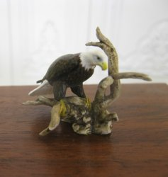 American Bald Eagle Sculpture by Mary McGrath, IGMA Fellow