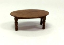 "1/2"" Scale Coffee Table, Walnut"