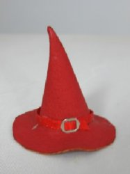 Witch's Hat, Red Leather