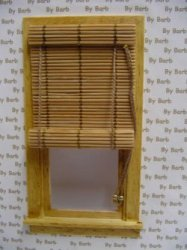 Working Bamboo Window Shade