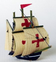 Spanish Galleon, 1 1/2""