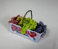 Grapes in Produce Basket