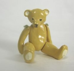 Jointed Teddy Bear by Warwick Miniatures