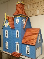 Hamlin VIctorian Dollhouse Kit with Garage