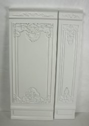 "2"" French Wall Panel, White"