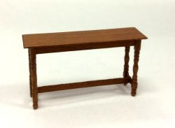 "1/2"" Scale Hunt Table, Cherry"
