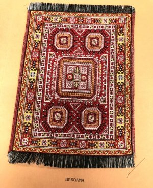 Franklin Mint Bergama Style Rug