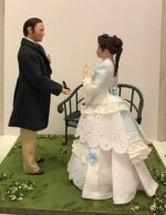 """The Proposal"" Dolls in Vignette"